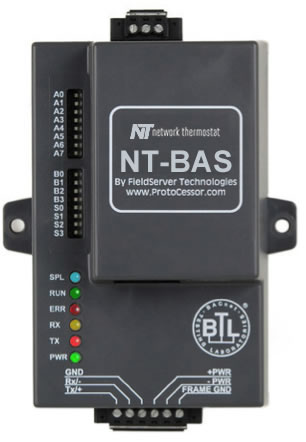 NT-BAS Local Config - Local Network